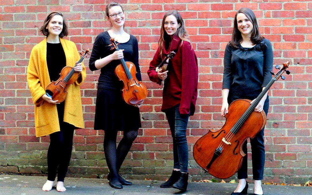Eusebius Quartet- May 17 7.30 pm